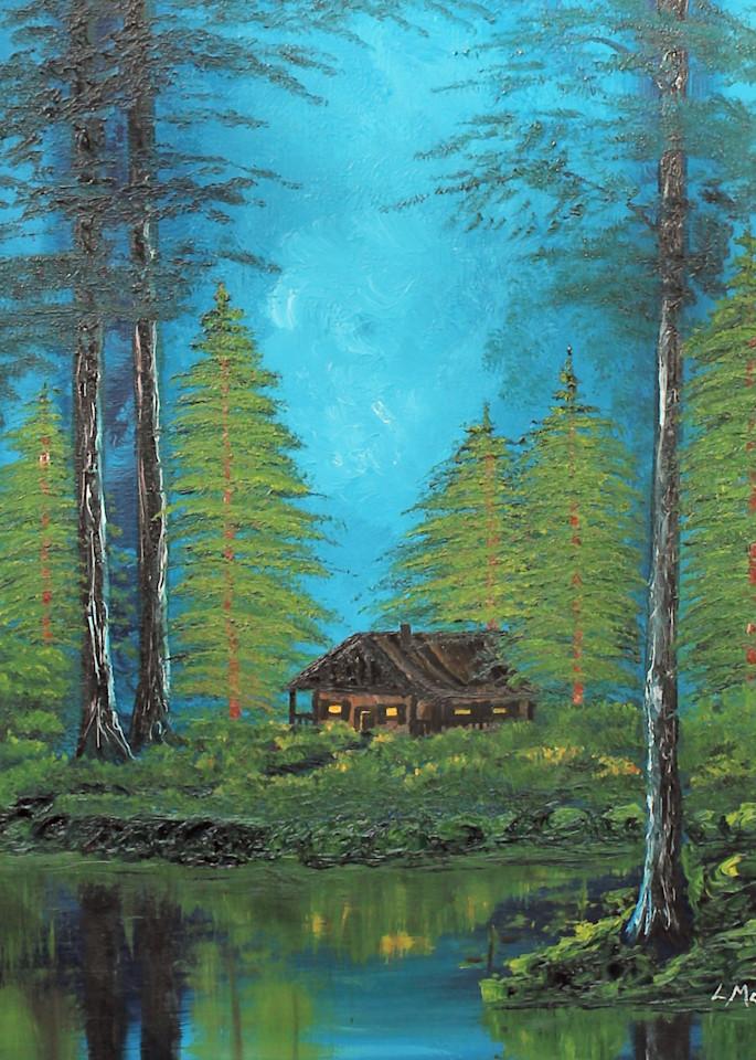 The Hermit Cabin Art | Lynda Moffatt Fine Arts