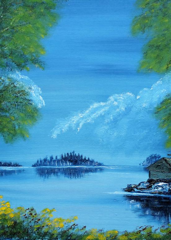 The Hunting Cabin Art   Lynda Moffatt Fine Arts