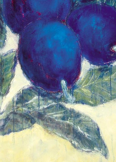 Blue Plums 1 Art | Joan Cox Art