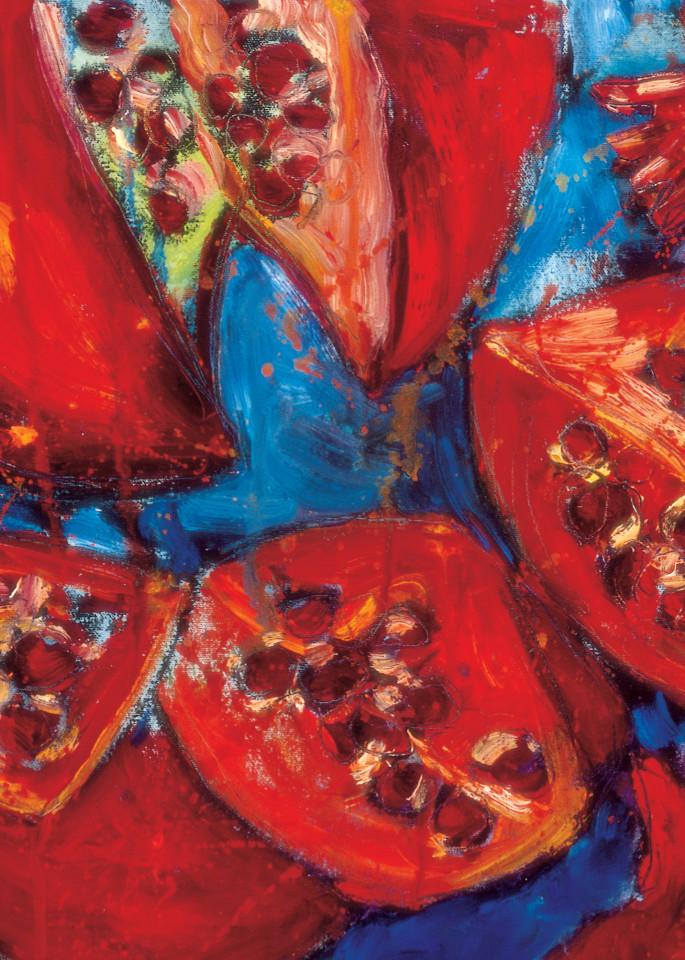 Pomegranate 3 Art | Joan Cox Art