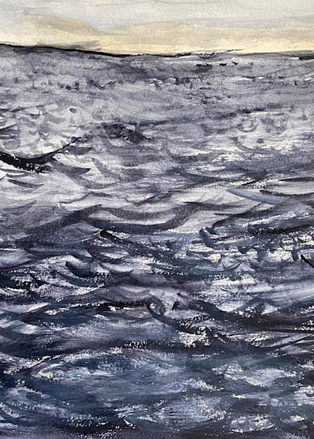 Dark Sea Below The Dawn Sky Art | Howard Lawrence Fine Art
