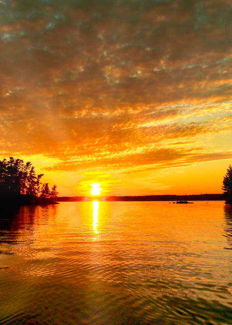 Sunset Fishing Art | CJ Harding