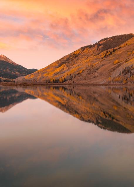 A morning sunrise in the San Juan Mountains of Colorado