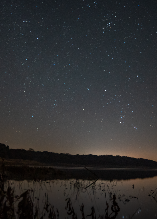 Stars At Lake Red Rock Photography Art | Happy Hogtor Photography