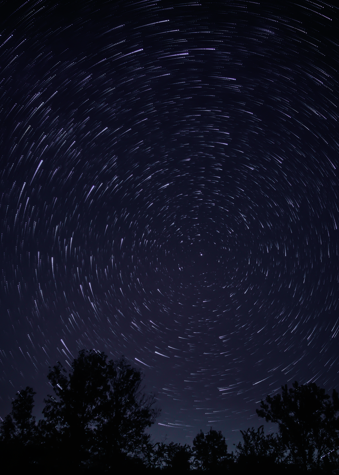 Star Trails At Red Rock Photography Art   Happy Hogtor Photography