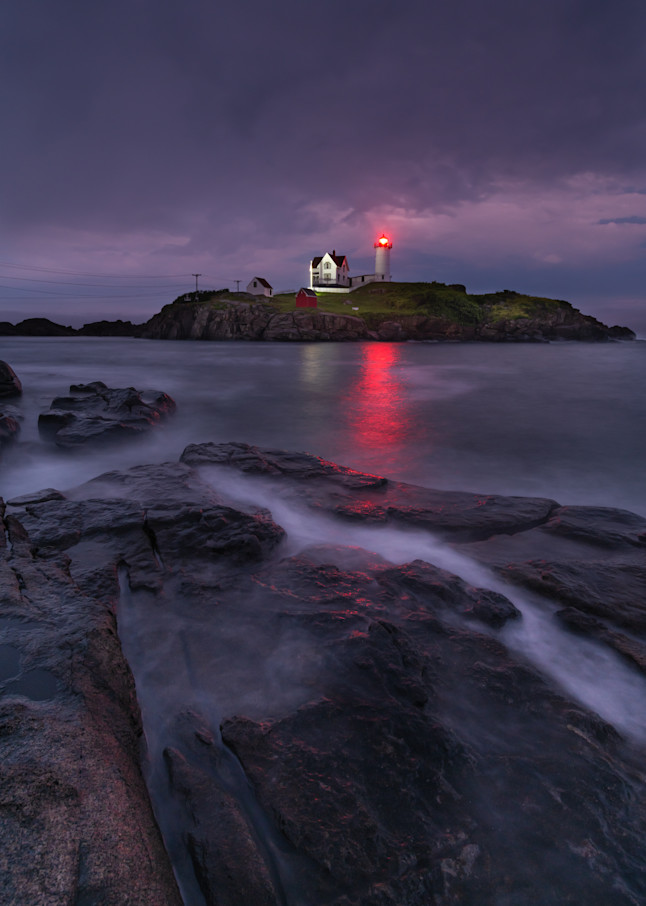 Purple Haze at Nubble Light