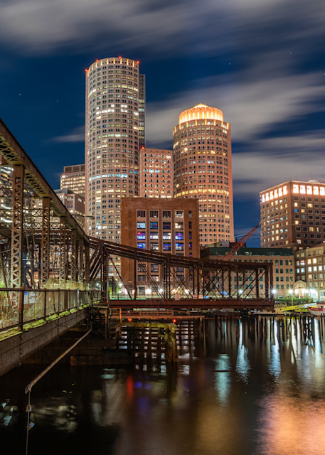 Boston Skyline Twilight Photography Art | Jesse MacDonald Photography