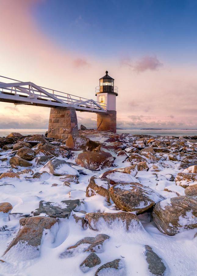 Winter Morning at Marshall Point