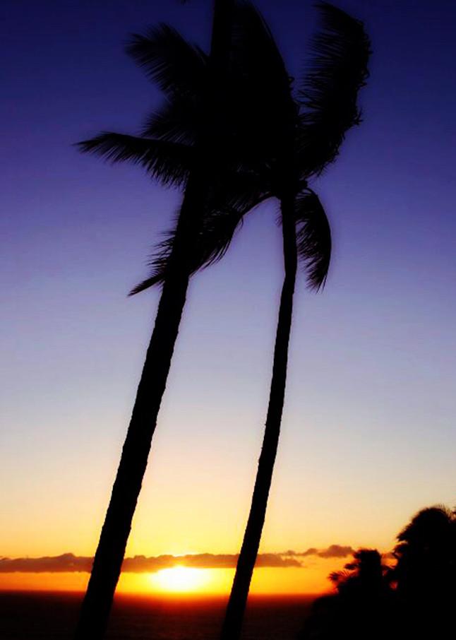 Kawaii Sunset Art | Chuck Redick Art