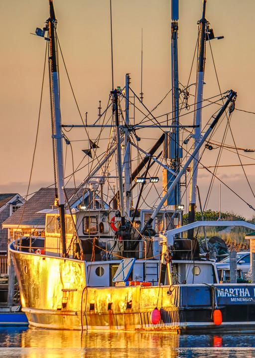Martha Rose Menemsha Sunset Art | Michael Blanchard Inspirational Photography - Crossroads Gallery
