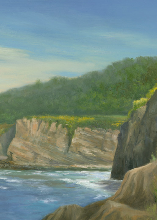 *The Cliffs At La Jolla Cove, San Diego, Ca Art | Tarryl Fine Art
