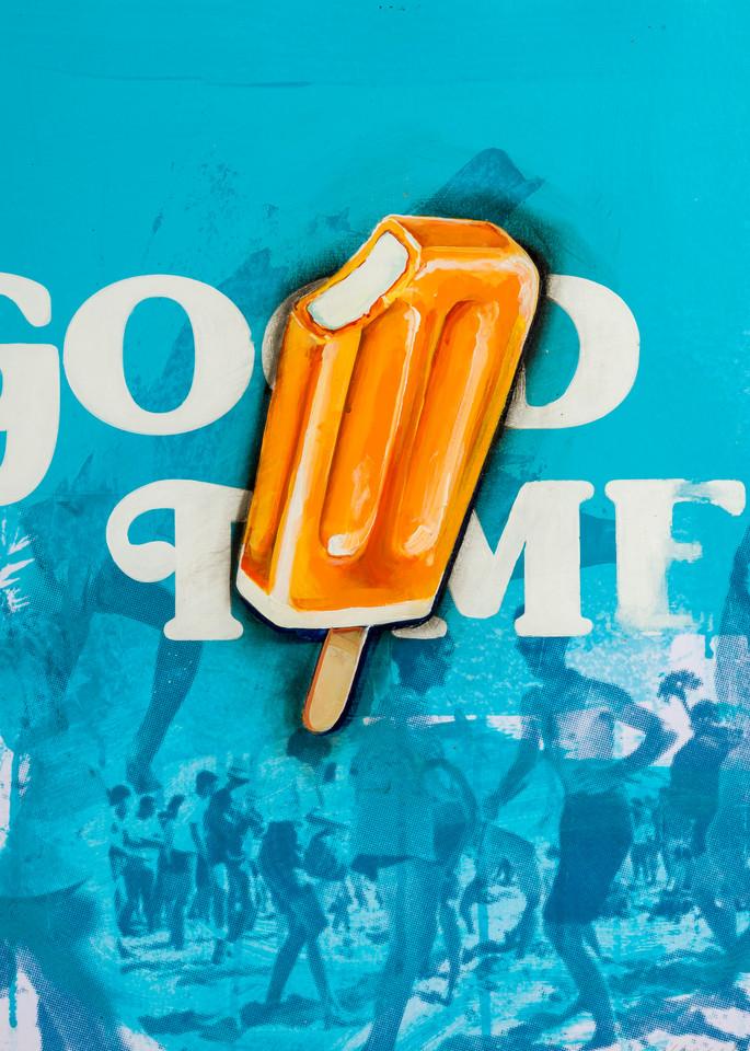 Good Times Popsicle Art | Jeff Schaller