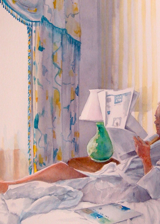 Morning At The Monteleone, From an Original Watercolor Painting