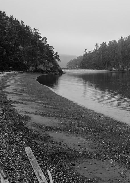 Beach at Bowman Bay, Deception Pass State Park, Washington, 2016