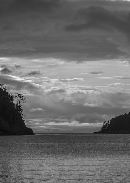 Cloudy Winter Day on Bowman Bay, Deception Pass State Park, Washington, 2015