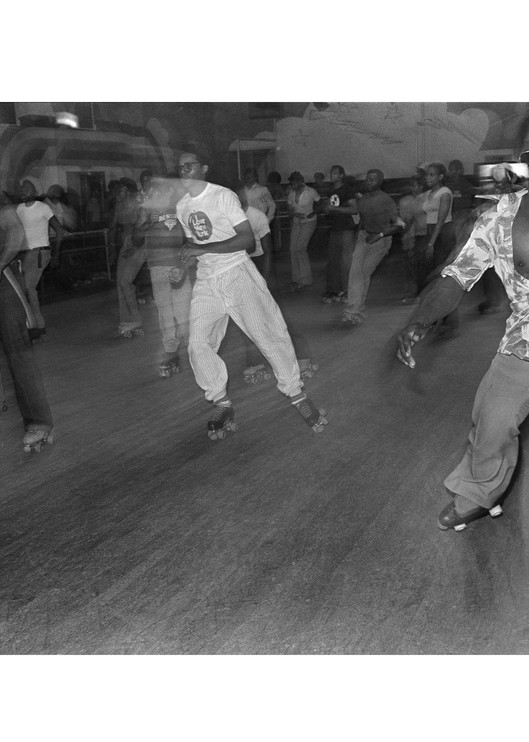Empire Roller Disco, 1979 Photography Art   Bill Bernstein Fine Art Collection