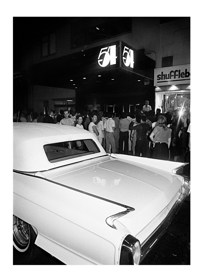 Studio 54, Cadilac 1979 Photography Art   Bill Bernstein Fine Art Collection