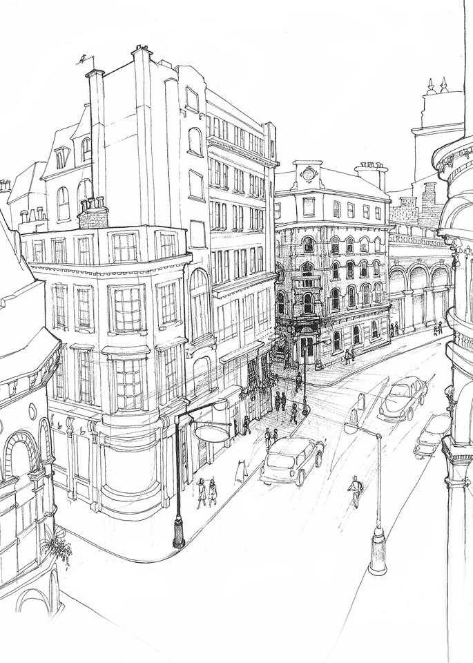sketch, London, England