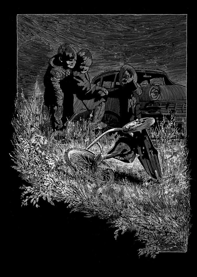 Misplaced Childhood Art   Andre Junget Illustration LLC
