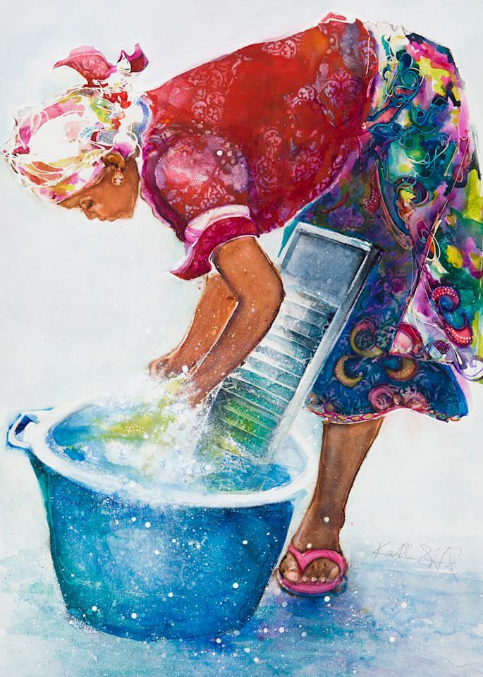 Wash Day Princess II