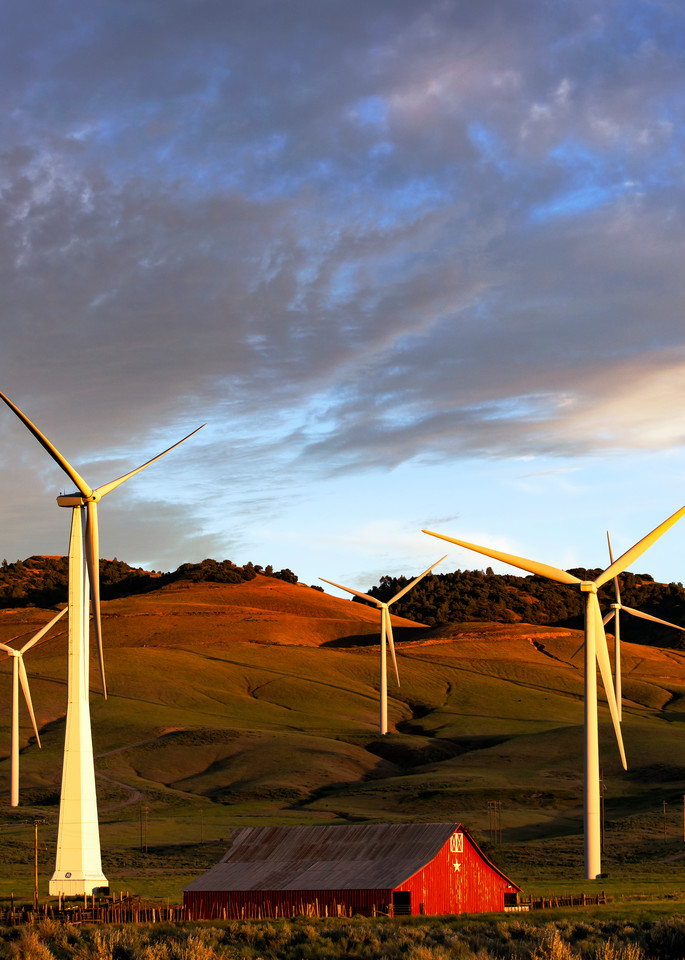 Windy Valley Sunset Photography Art | Josh Kimball Photography