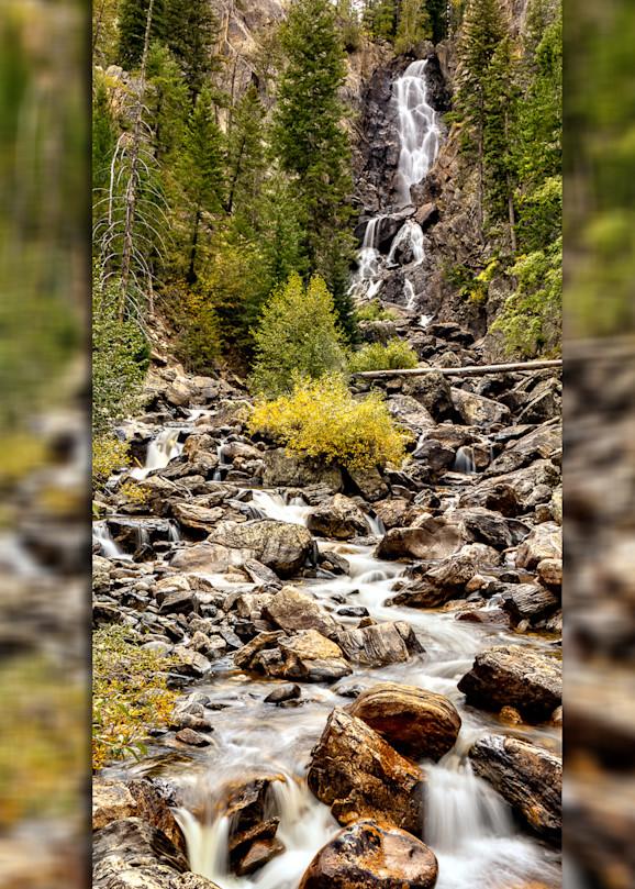 Fish Creek Falls 3 D Photography Art   Whispering Impressions