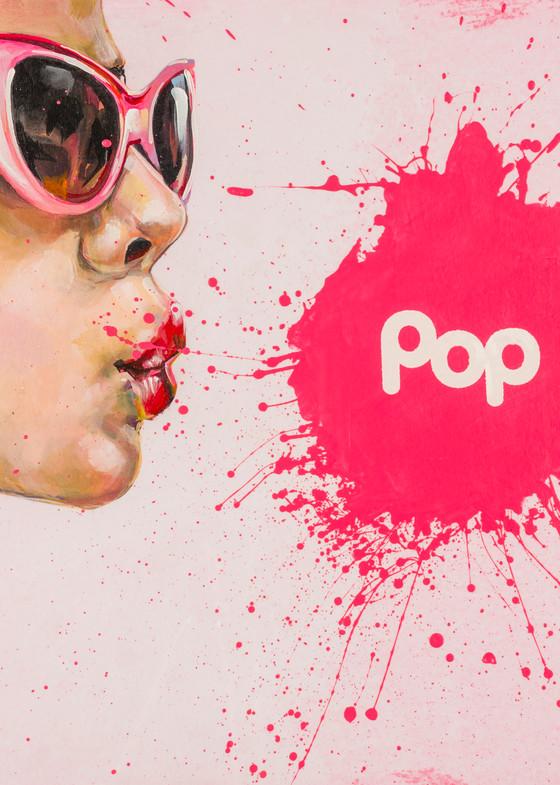 Busted Pop   Pink Glasses Art | Jeff Schaller