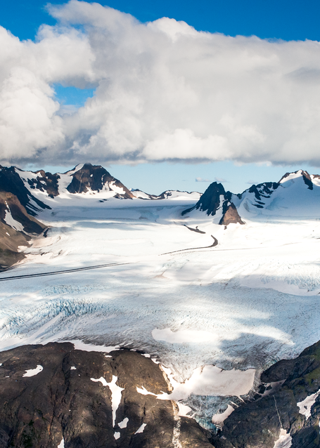 Grewingk Glacier Cloud Base Photography Art | Hatch Photo Artistry LLC