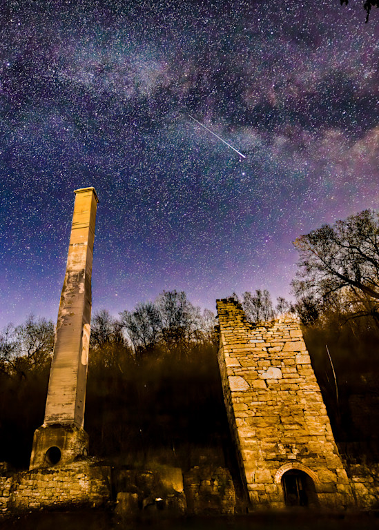 Lime Kiln Ruins and the Milky Way No.2