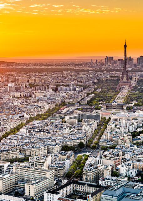 A Sunset in Paris