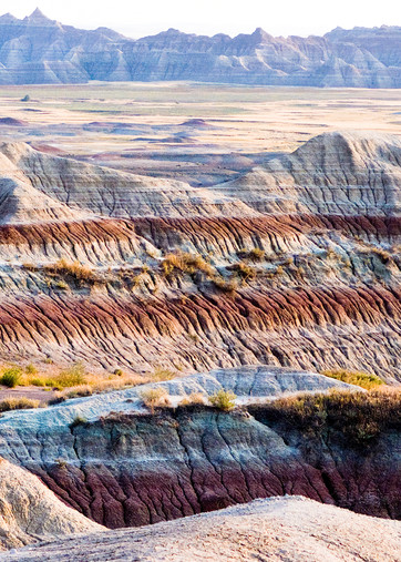 Badlands Strata Panorama Photography Art | Hatch Photo Artistry LLC