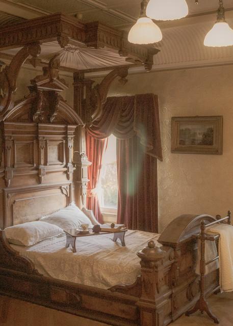 Victorian Bedroom Photography Art   Ron Olcott Photography