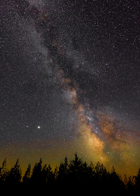 The Milky Way from Seul Choix Pointe