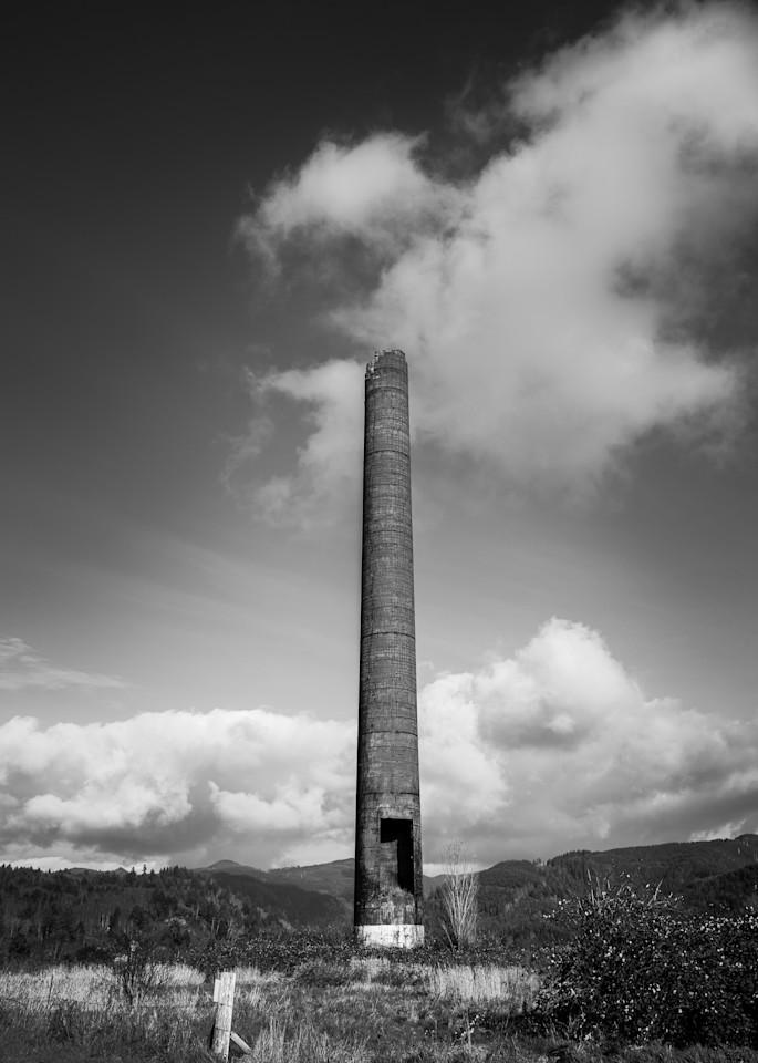 Smokestack, Garibaldi, Oregon, 2020