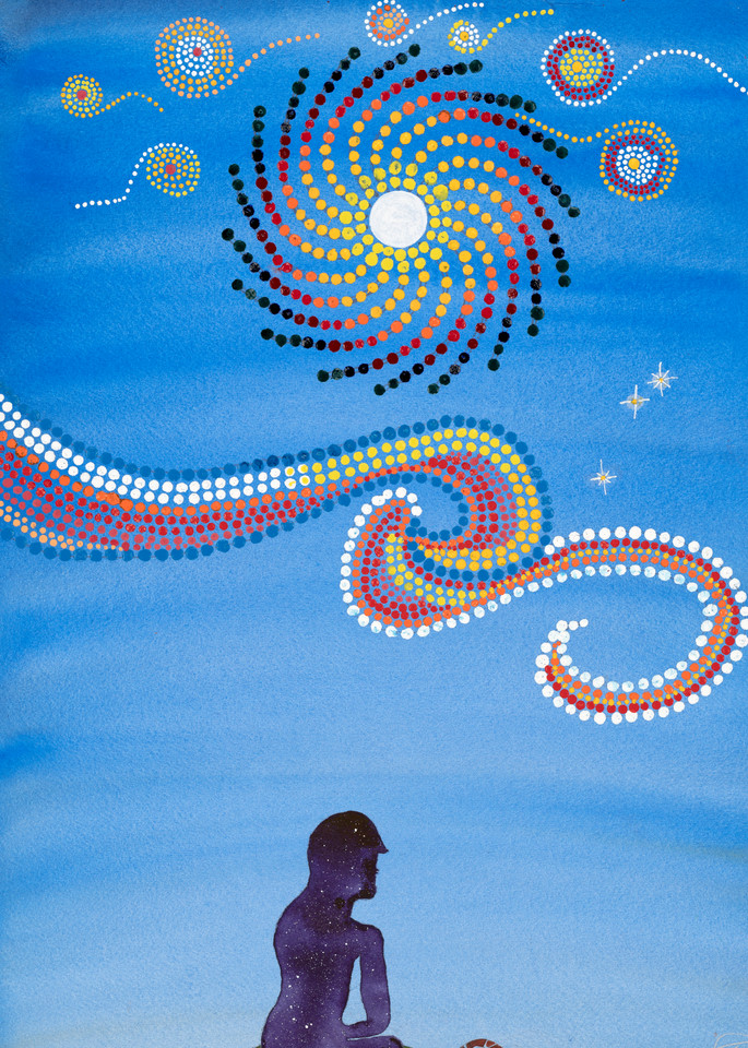 Skywoman Art   Rafa Mariano Art