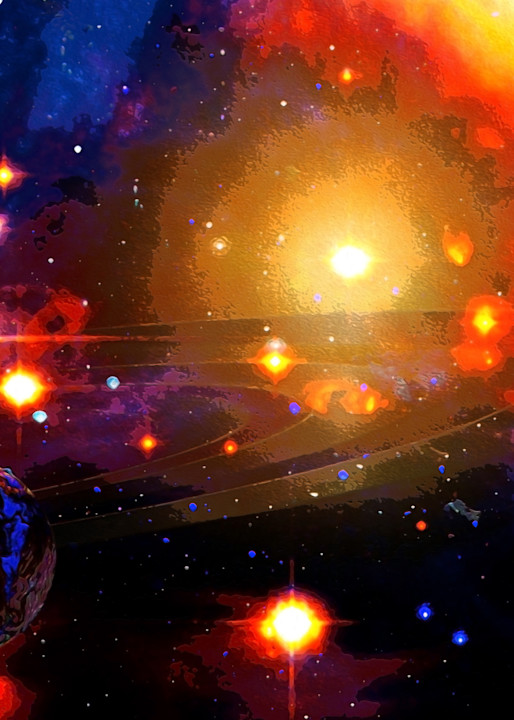 Galactic Neighborhood Art | Don White-Art Dreamer