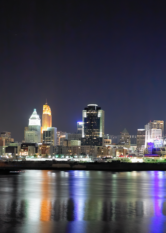 Cincinnati By Night Number 1 Photography Art | Hatch Photo Artistry LLC