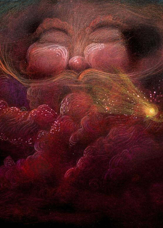 Strawberry Cloud  Art | Angelica Hoyos Studio