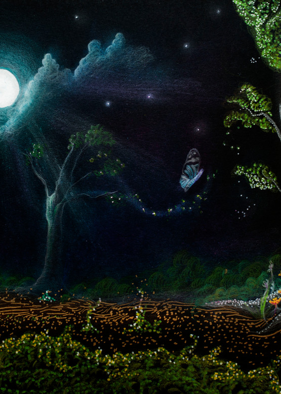 Magical Forest  Art | Angelica Hoyos Studio