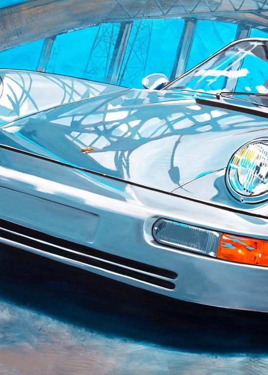 Blue Bridge Porsche 964 Art | Telfer Design, Inc.