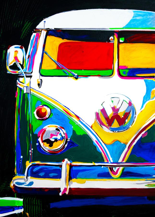 Vw Bus Fun  Art   Telfer Design, Inc.