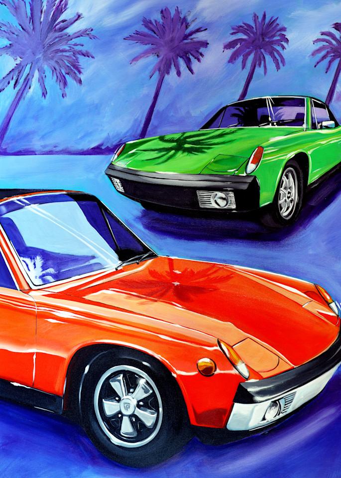 Werks Reunion Porsche 914  Art | Telfer Design, Inc.