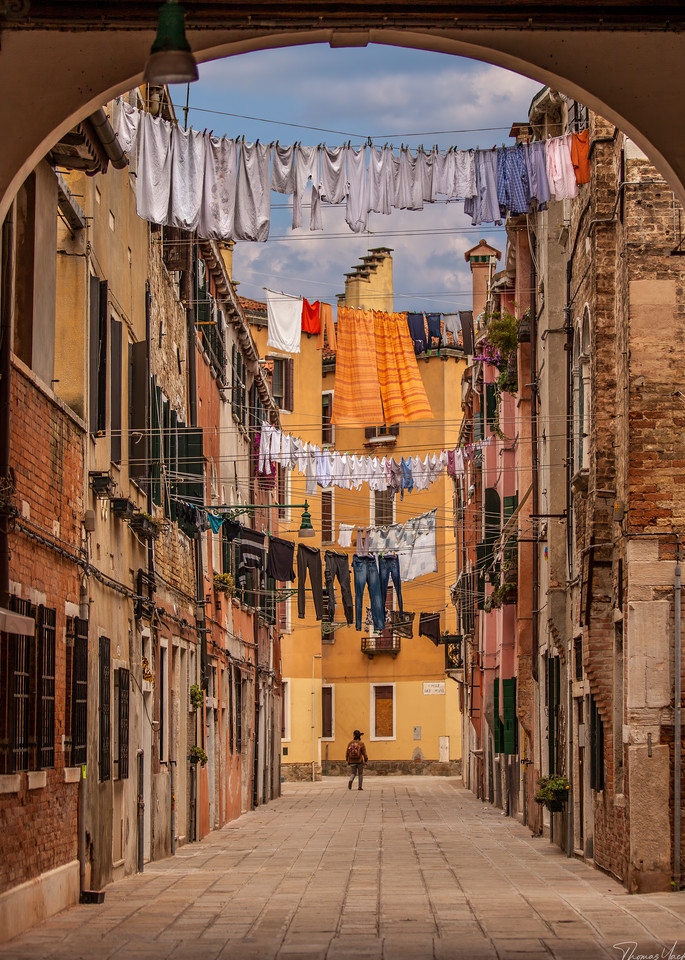 Venetian Laundry Photography Art | Thomas Yackley Fine Art Photography