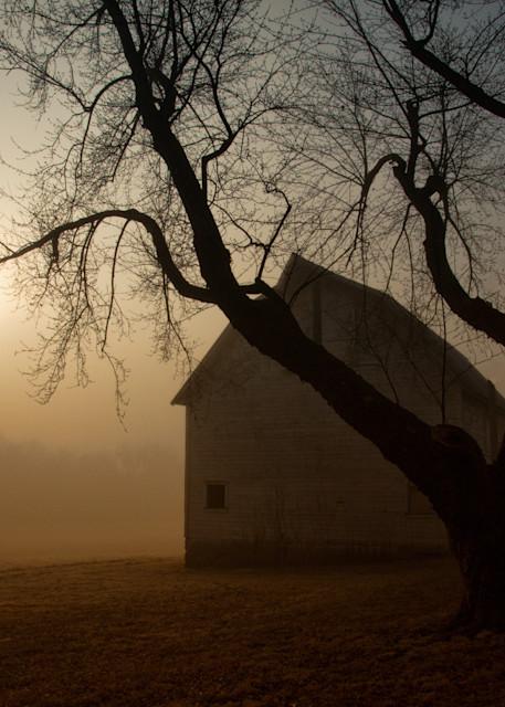 Foggy Old Barn 9732 Fs Art | Koral Martin Fine Art Photography