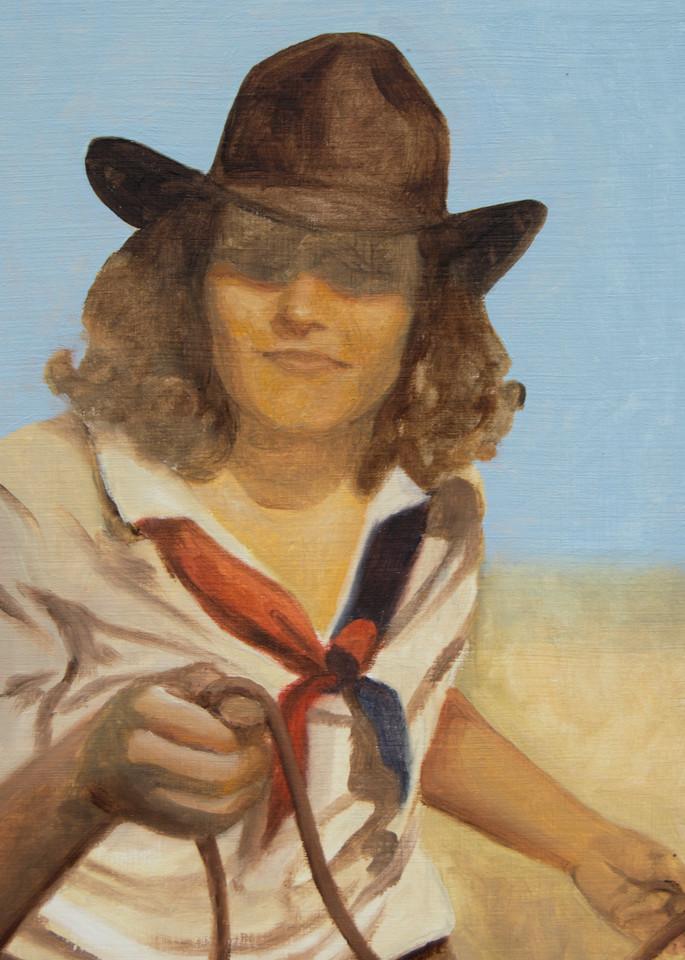 Cowboy Study 4 Art | Kym Day Studio