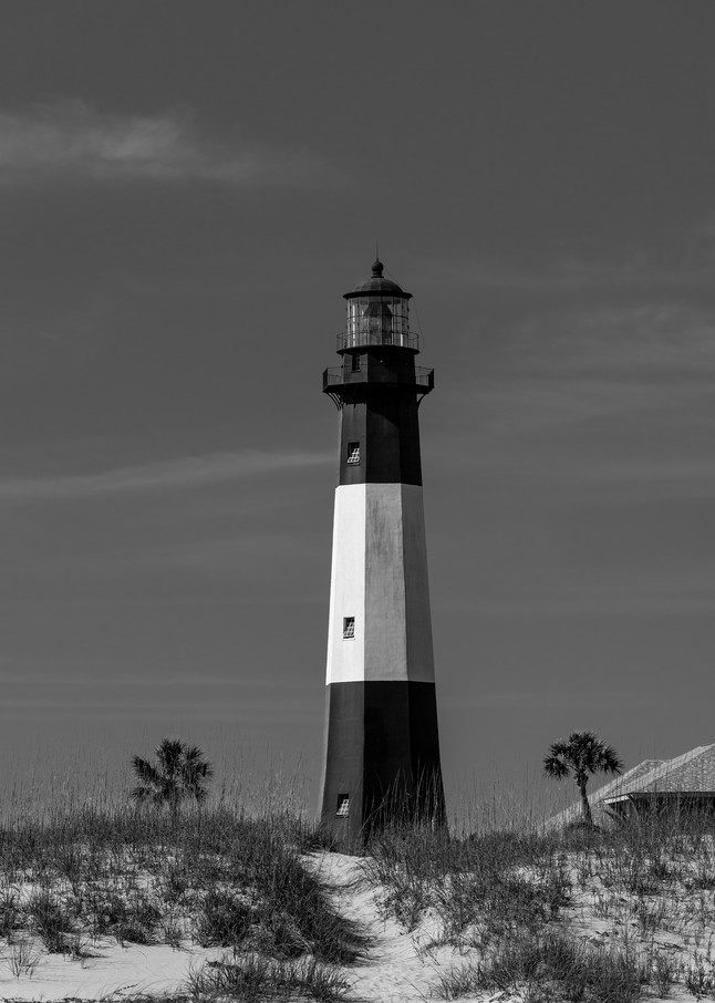 Tybee Island Lighthouse B&W