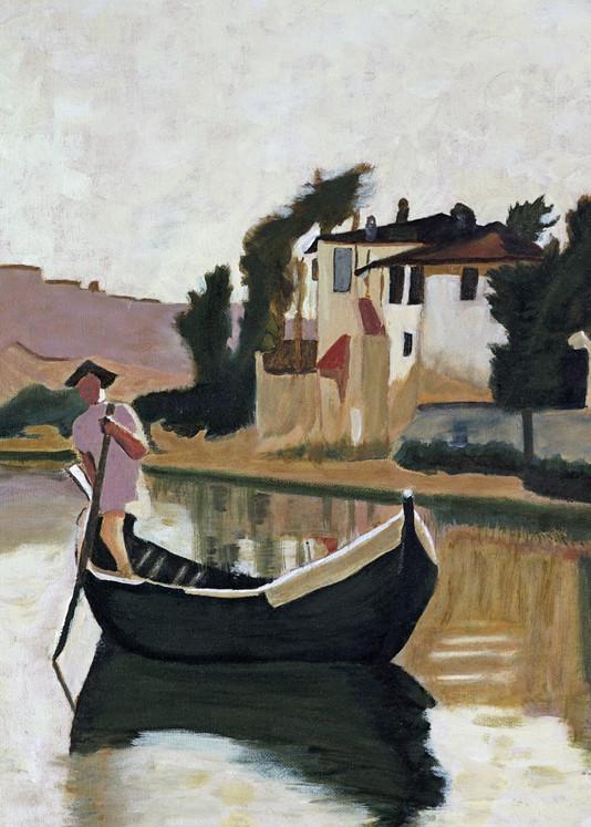 The Boatman Art | i Art Collector