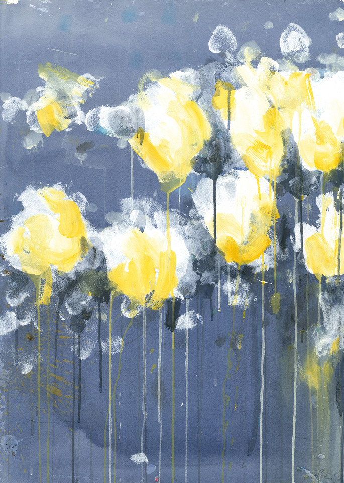 A Bee Staggers Out Art | Caroline Wright Art