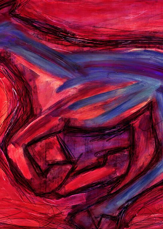 Red  Art   robincaspari