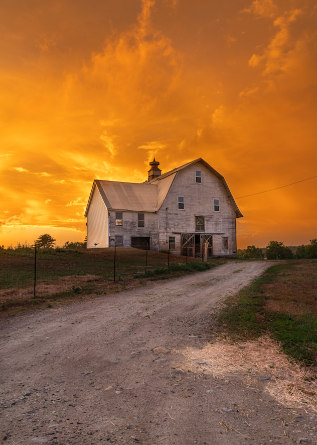 Sunset On The Farm 2 Photography Art | Jesse MacDonald Photography